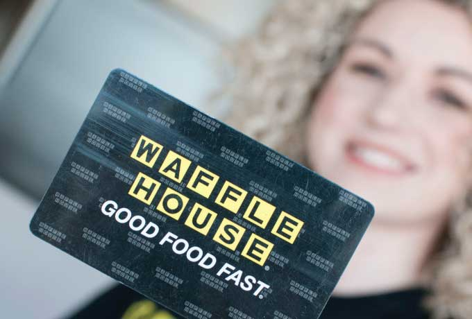 Waffle House gift card