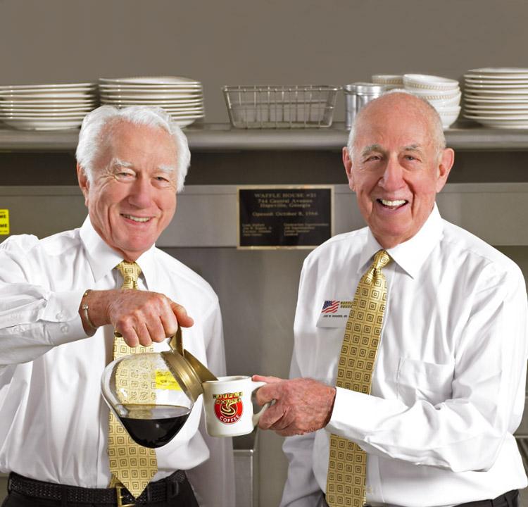 Joe Rogers Sr. and Tom Forkner