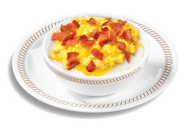 Bacon Egg and Cheese Grits Bowl