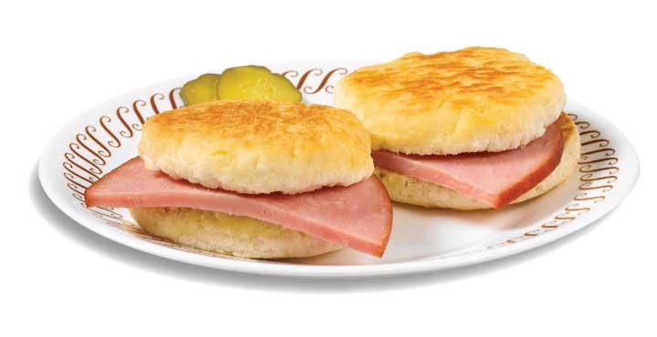 City Ham biscuits
