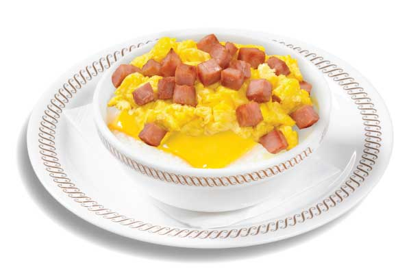 Ham Egg and Cheese Grits Bowl