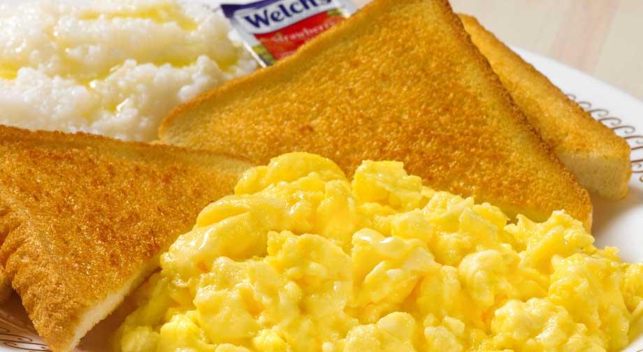 egg breakfast menu items