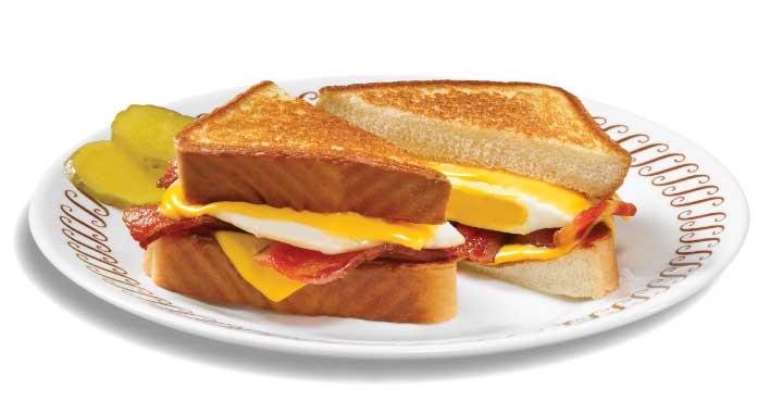 Texas Bacon Egg and Cheese Melt