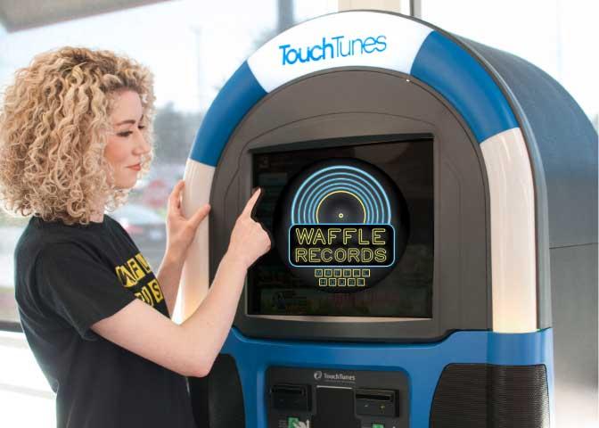 Waffle House Employer at TouchTunes jukebox