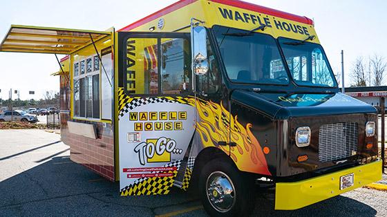 Waffle House food truck